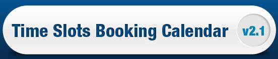 Time Slots Booking Calendar